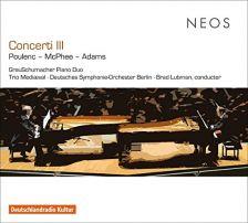 NEOS21703. Concerti III