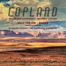 BIS2164. COPLAND Billy the Kid. Rodeo. El Salon Mexico