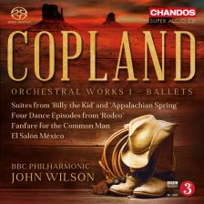 CHSA5164. COPLAND Billy The Kid. Appalachian Spring. Rodeo