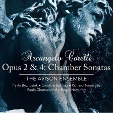 CKD413 CORELLI Chamber Sonatas Opp 2 & 4 Avison Ensemble