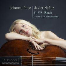 RCD1019. CPE BACH Sonatas for Viola da Gamba
