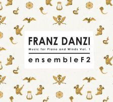 DMCD002. DANZI Music for Piano and Winds Vol 1