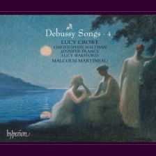 CDA68075. DEBUSSY Songs Vol 4 (Lucy Crowe)