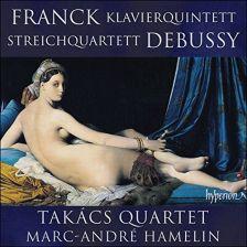 CDA68061. DEBUSSY String Quartet FRANCK Piano Quintet