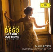 481 6381. PAGANINI; WOLF-FERRARI Violin Concertos
