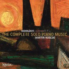 CDA68033. DOHNÁNYI Complete Solo Piano Music Vol 3