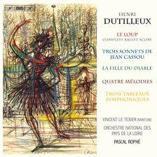BIS1651. DUTILLEUX Le Loup