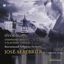 2564 64527-6. DVOŘÁK Symphony No 2. 3 Slavonic Dances. Serebrier