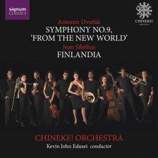 SIGCD515. DVOŘÁK Symphony No 9 SIBELIUS Finlandia