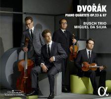 ALPHA288. DVOŘÁK Piano Quartets (Busch Trio, da Silva)