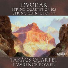 CDA68142. DVOŘÁK String Quintet Op 97. String Quartet Op 105
