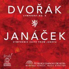FR710 SACD. DVOŘÁK Symphony No 8 JANÁČEK Jenufa
