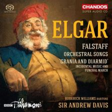 CHSA5188. ELGAR Falstaff. Orchestral Songs