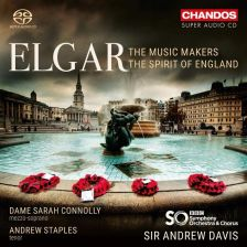 CHSA5215. ELGAR The Music Makers. The Spirit of England (Davis)