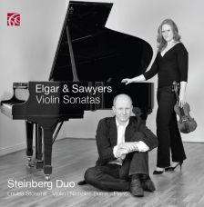 NI6240. ELGAR; SAWYERS Violin Sonatas. Louisa Stonehill