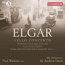 ELGAR Cello Concerto; Pomp and Circumstance Marches Nos 1-5