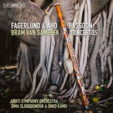 BIS2206. FAGERLUND; AHO Bassoon Concertos