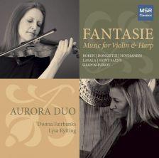 MS1682. Fantasie: Music for Violin & Harp (Aurora Duo)