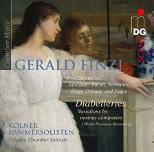 MDG903 1894-6. FINZI Five Bagatelles. Diabelleries. Interlude