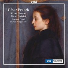 CPO555 088-2. FRANCK String Quartet. Piano Quintet