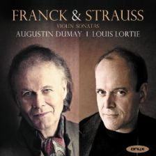 STRAUSS Violin Sonata Op 18 FRANCK Violin Sonata
