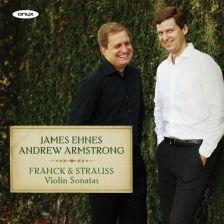 ONYX4141. FRANCK; STRAUSS Violin Sonatas