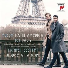 88985 43089-2. From Latin America to Paris