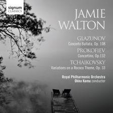 SIGCD407. GLAZUNOV Concerto Ballata PROKOFIEV Concertino
