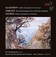 SOMMCD0153. DVOŘÁK; GLAZUNOV Violin Concertos