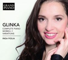 GP741. GLINKA Complete Piano Works 1: Variations
