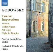 8 573058. GODOWSKY 12 Impressions. Avowal. Waltz Poems Nos 1 & 2