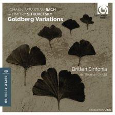 HMU80 7633. JS BACH Goldberg Variations