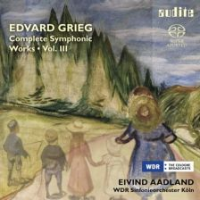 AUDITE92 669. GRIEG Complete Symphonic Works Vol III. Aadland