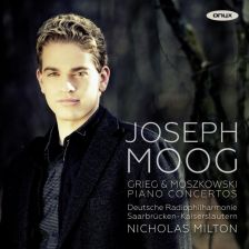 ONYX4144. GRIEG; MOSZKOWSKI Piano Concertos