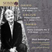 SOMMCD269. GRIEG; DELIUS Piano Concertos (Bebbington)