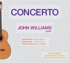 JCW3. SALINAS Danzas Peregrinas GOSS Guitar Concerto EDWARDS Arafura Dances