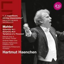 ICAC5094. MAHLER Symphonies Nos 1 & 8. Haenchen
