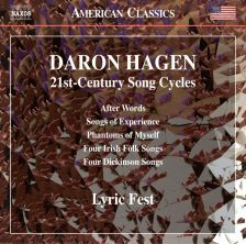 8 559714. HAGEN 21st Century Song Cycles