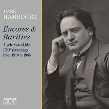 APR6023. Mark Hambourg: Encores & Rarities