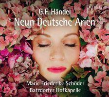 ACC24326. HANDEL 9 German Arias (Schöder)