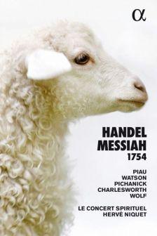 ALPHA362. HANDEL Messiah (Niquet)