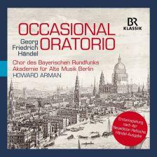 900520. HANDEL Occasional Oratorio