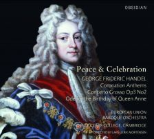 CD711. HANDEL Concerto Grosso Op 3/2. Ode for the Birthday of Queen Anne