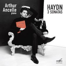 MELCD 1002527. HAYDN Piano Sonatas Nos 30, 31 & 62 (Ancelle)