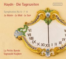 Haydn Symphonies 6 - 8 'The Day Trilogy'