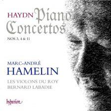 Haydn Piano Concertos Nos. 3, 4 & 11 –Hamelin