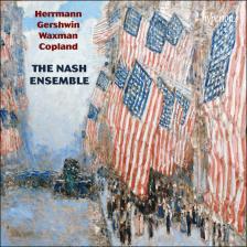 CDA68094. American chamber music: Herrmann, Gershwin, Waxman & Copland