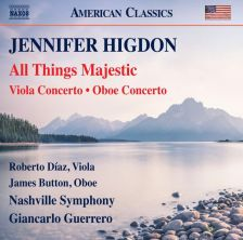 8 559823. HIGDON All Things Majestic. Oboe Concerto. Viola Concerto