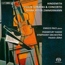 BIS2024. HINDEMITH Violin Concerto. Violin Sonatas. Järvi