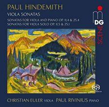 MDG9031952-6. HINDEMITH Viola Sonatas